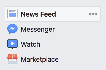Screenshot of iPhone menu